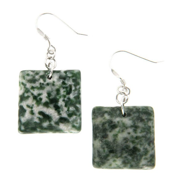 Pearlz Ocean Rain Forest Jasper Earrings