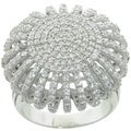 Eternally Haute 3.5 Carat TW Pave Ottoman Cocktail Ring
