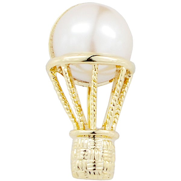 Pearl Air Balloon Pin Brooch