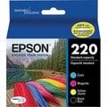 Epson DURABrite Ultra Ink 220 Ink Cartridge - Black, Cyan, Magenta, Y