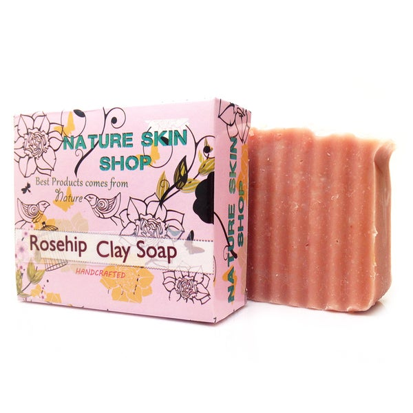 Rose Hip and Pink Clay Facial Cleansing Bar