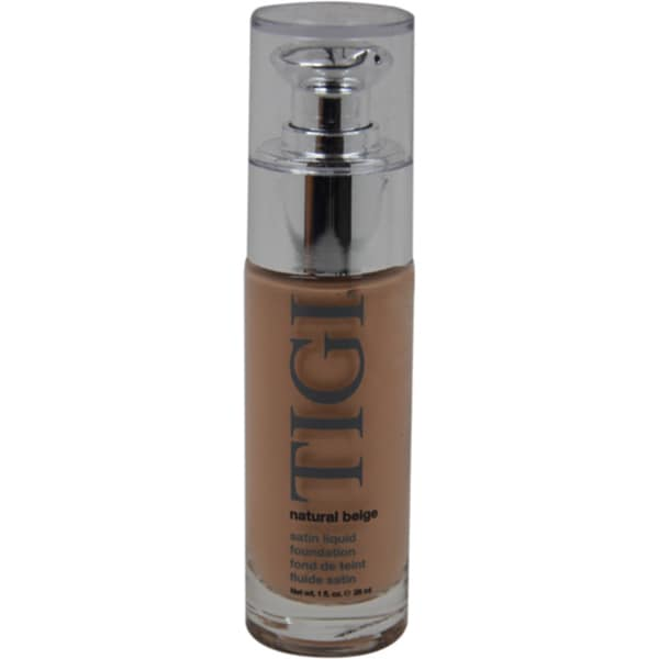 TIGI Satin Liquid Natural Beige Foundation