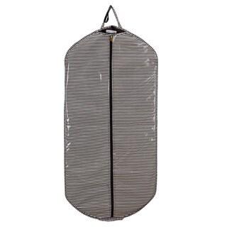Isaac Mizrahi Tupits Stripe Slim Travel Garment Bag