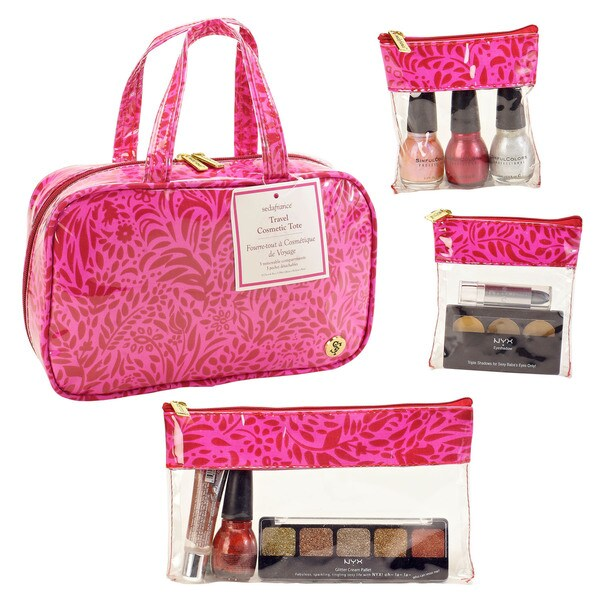 SedaFrance Molee Valentine MJ Cosmetic Bag with Three-Removable Compartments