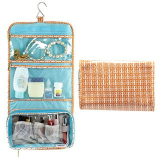 SedaFrance Bonchic Tangerine Hanging Travel Bag