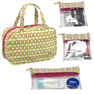 SedaFrance Bonchic Watermelon MJ Removable Compartments Cosmetic Bag