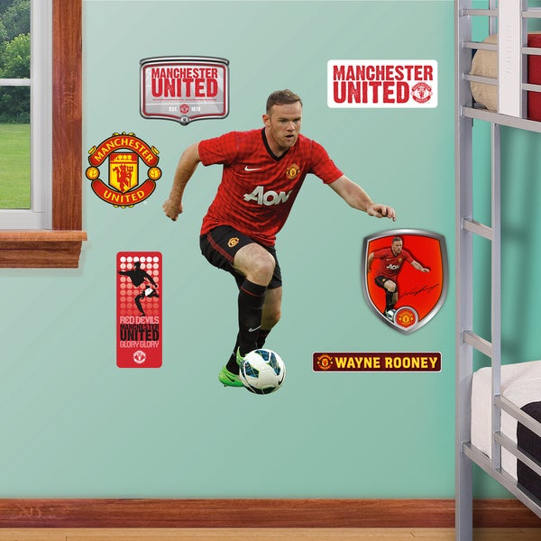 Fathead Jr. Wayne Rooney Wall Decals