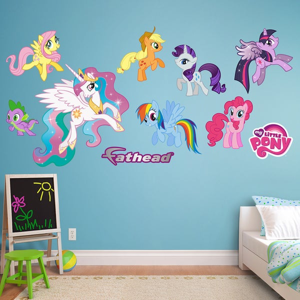 Fathead My Little Pony Collection Wall Decals