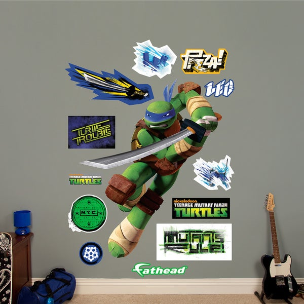 Fathead Leonardo Teenage Mutant Ninja Turtles Wall Decals