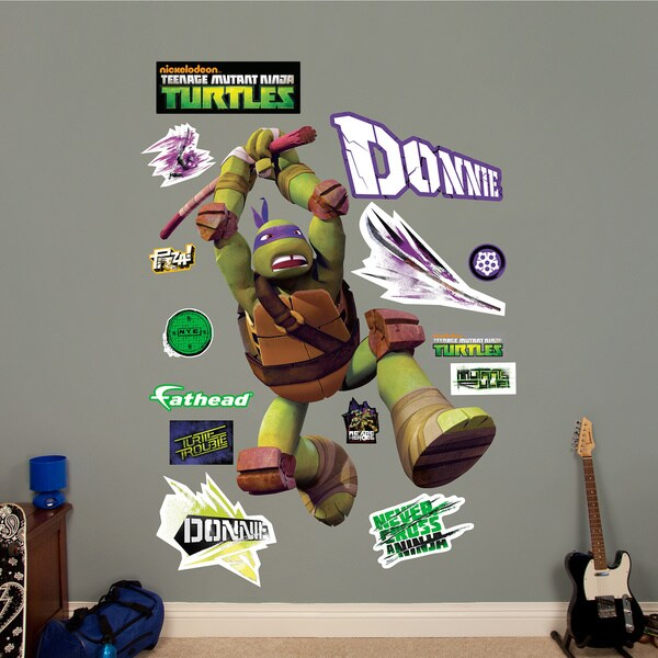Fathead Donatello Teenage Mutant Ninja Turtles Wall Decals 14306281