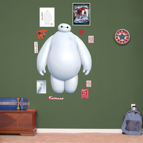 Fathead Big Hero 6 Baymax Wall Decals