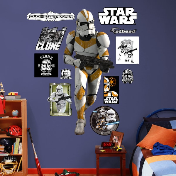 Fathead Star Wars Clone Trooper Wall Decals