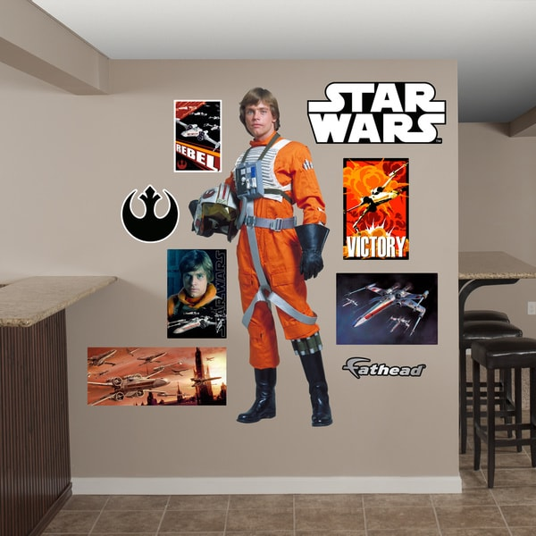Fathead Star Wars Luke Skywalker Pilot Wall Decals