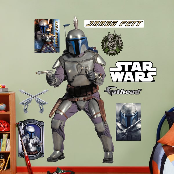 Fathead Star Wars Jango Fett Wall Decals