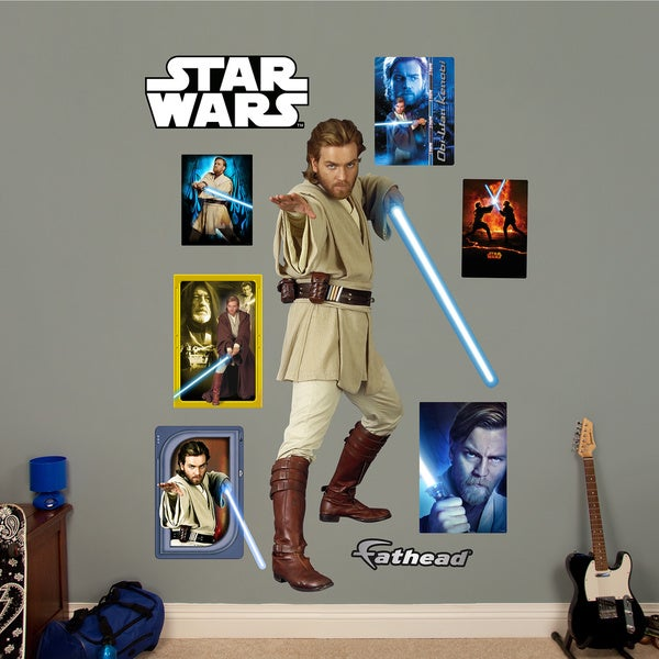 Fathead Star Wars Obi-Wan Kenobi Wall Decals