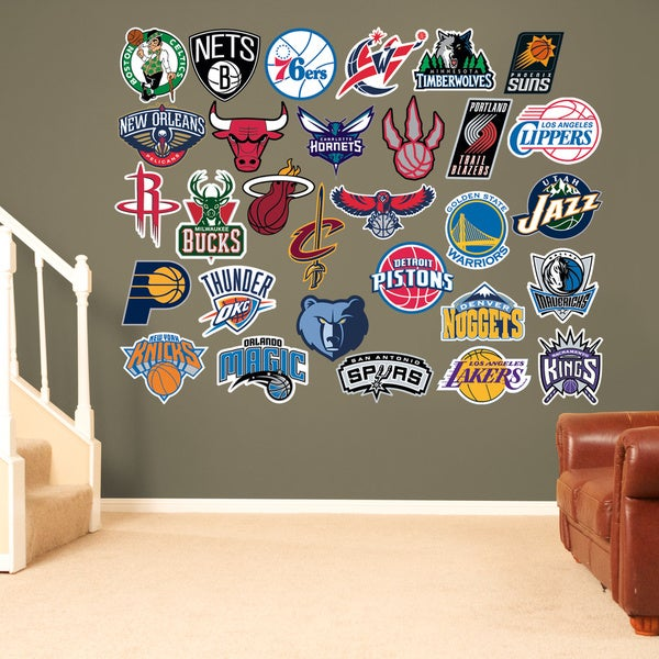 Fathead NBA 2014-15 Logo Collection Wall Decals