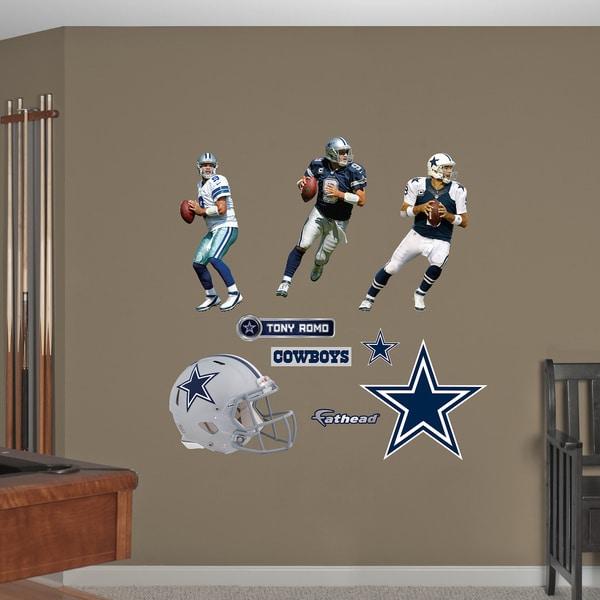 Fathead Tony Romo Hero Pack Wall Decals