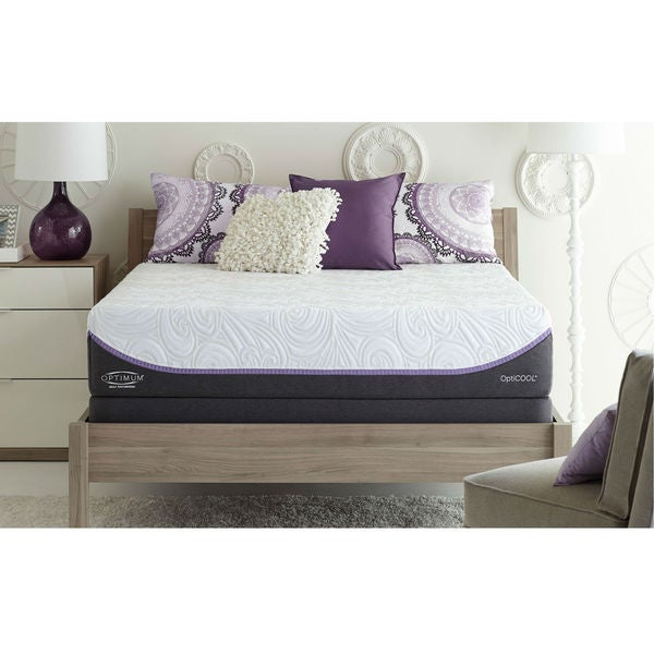 Sealy Optimum Inspiration Gold Plush Queen-size Mattress Set