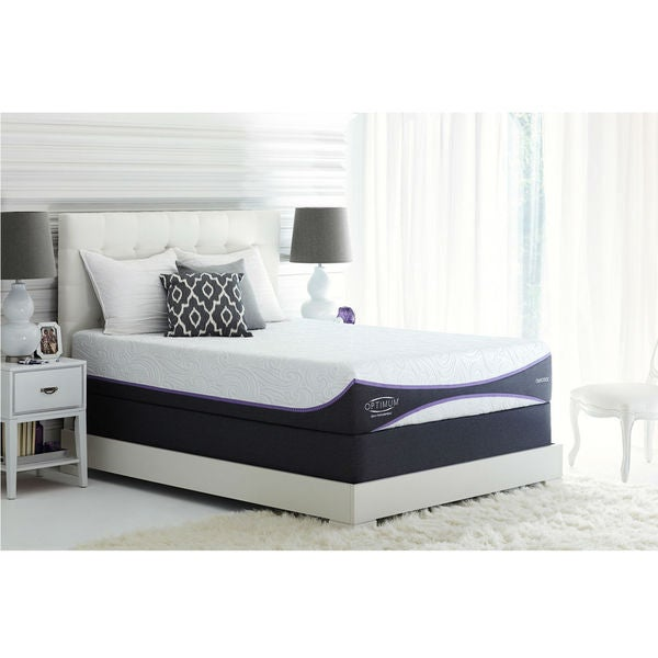 Sealy Optimum Elation Gold California King-size Gel Memory Foam Mattress Set