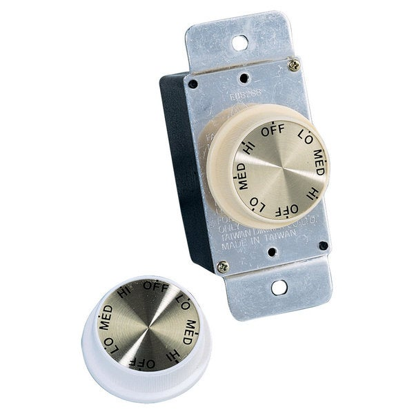 Ceiling Fan Rotary Wall Control Fixture