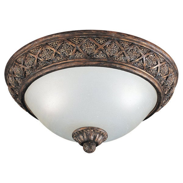 Two-light Highlands Close to Ceiling Fixture