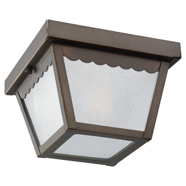 One-light Outdoor Ceiling Fixture