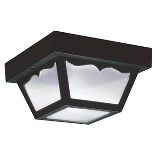 Single-Light Outdoor Ceiling Fixture