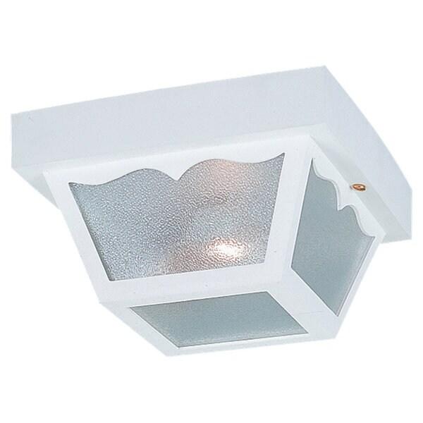 Single-Light Outdoor Ceiling Fixture
