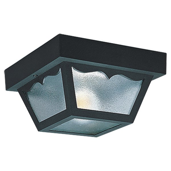 Two-Light Outdoor Ceiling Fixture
