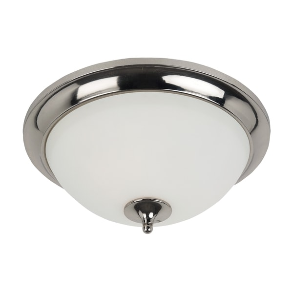 Two-light Flush Fixture