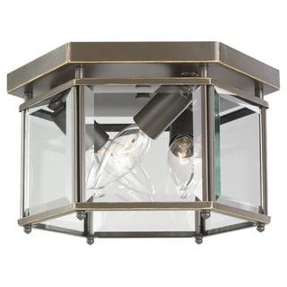Three-light Ceiling Fixture