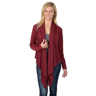 Journee Collection Women's Long Sleeve Open Front Duster Cardigan