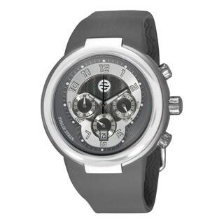Philip Stein 'Active' 31-32-AGR-RBGR Chronograph Grey Rubber Watch