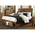 Magnussen B2375 River Ridge Wood Island Bed w/ Storage