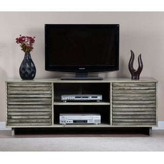 Array Light Rustic Grey Entertainment Center