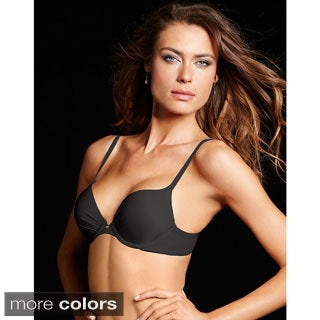 Maidenform Comfort Devotion Tailored Plunge Push Up Bra