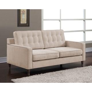 Jackie Buff Linen-like Fabric Sofa