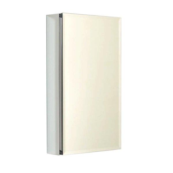 Zenith Frameless Aluminum 26-inch Medicine Cabinet