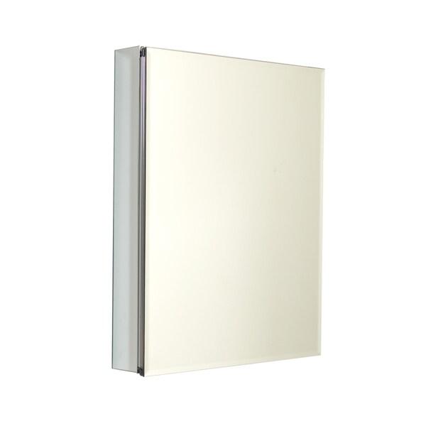 Zenith Frameless Aluminum Medicine Cabinet