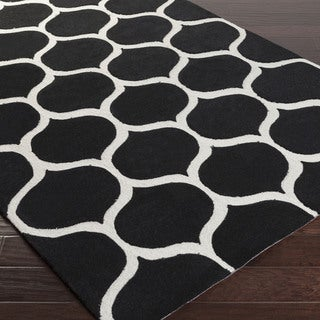 Artfully Crafted Bremerton Geometric Polyester Area Rug-(3'6 x 5'6)