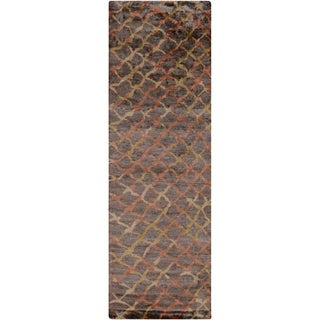 Hand-Knotted Tristan Viscose Rug (2'6 x 8')