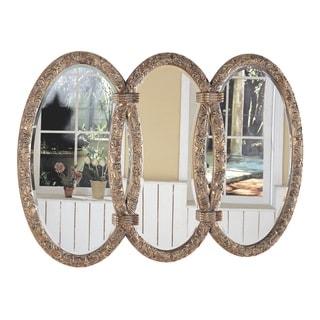 Coaster Bronze-toned Triplet Mirror