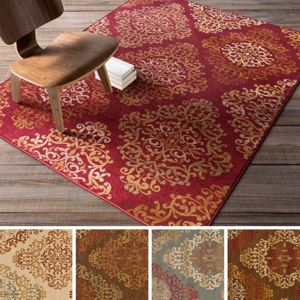 Artfully Crafted Arlesey Damask Rug