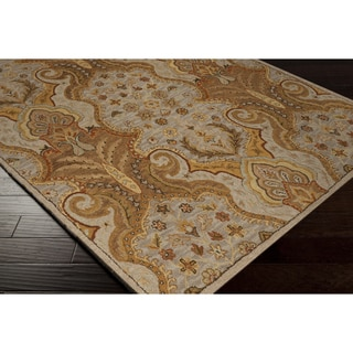 Hand-Hooked Addyson Wool Rug (8' x 10')
