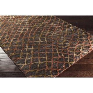 Hand-knotted Tristan Viscose Rug (8' x 11')