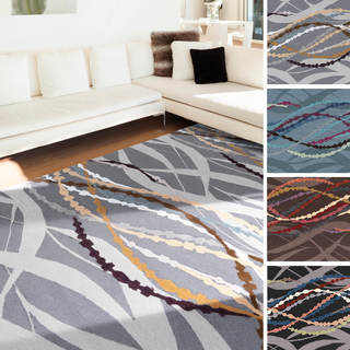 Artfully Crafted Bellingham Abstract Polyester Area Rug-(5' x 8')
