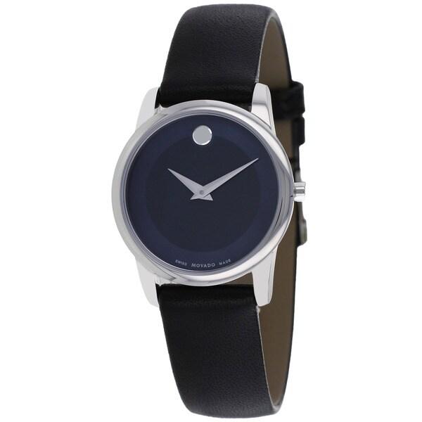 Movado Women's 0606611 Museum Classic Blue Dial Watch