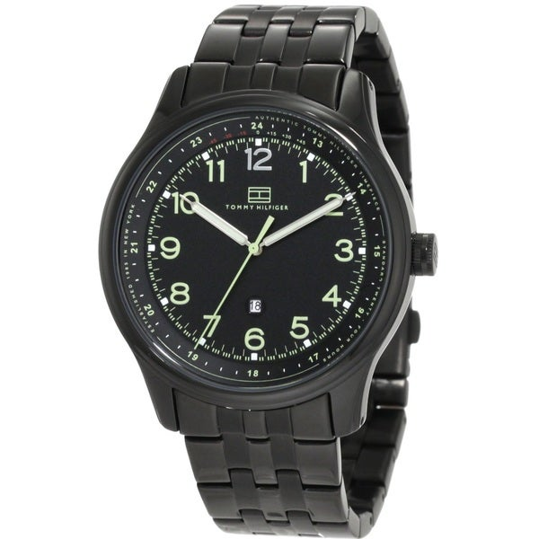 Tommy Hilfiger Men's 1710307 Classic Black Ion Watch