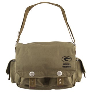 Little Earth Green Bay Packers Prospect Messenger Bag