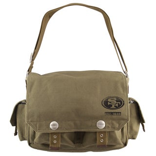 Little Earth San Francisco 49ers Prospect Messenger Bag